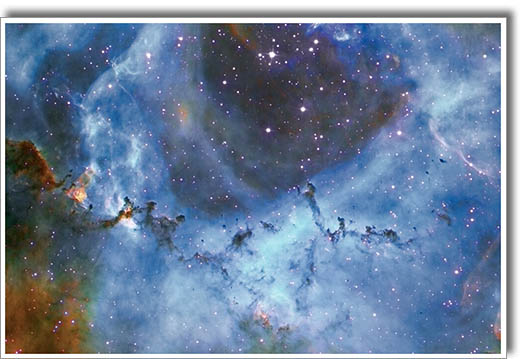 Rosette nebula - available on large print